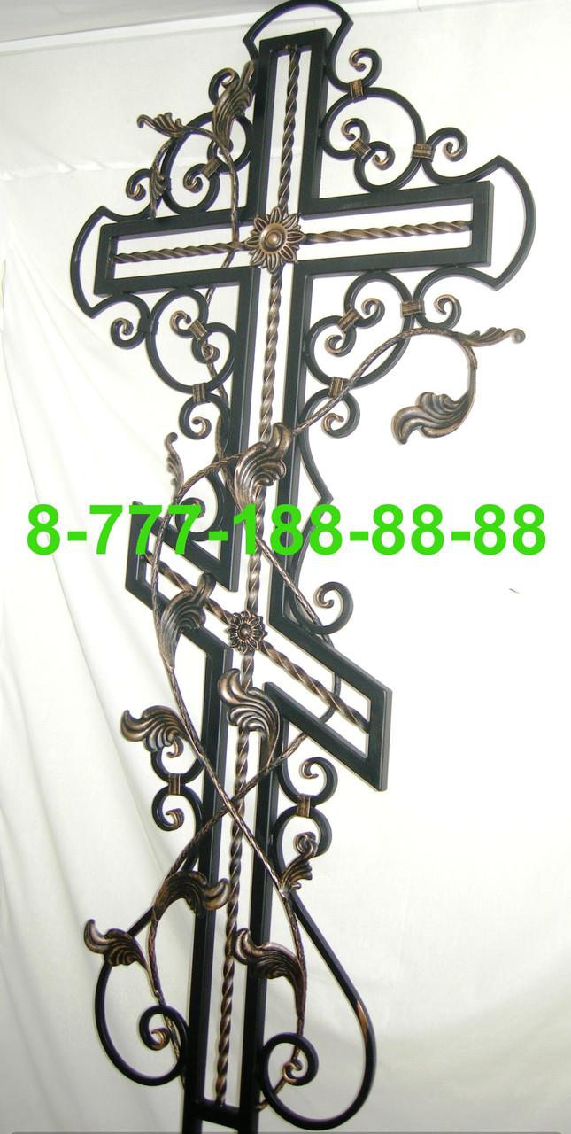 Кованые кресты на могилу №39