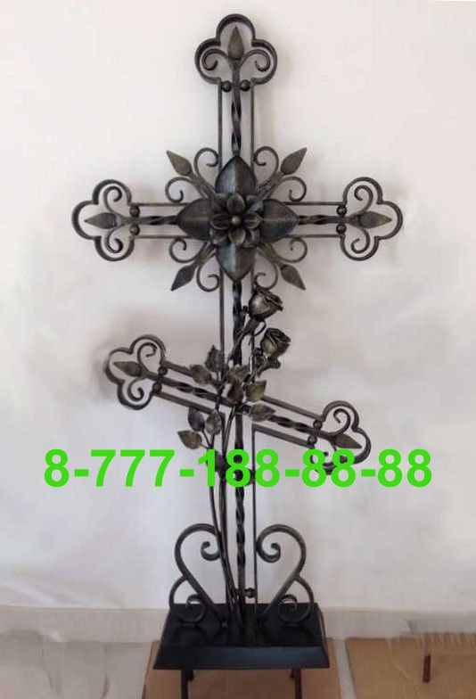 Кованые кресты на могилу №41