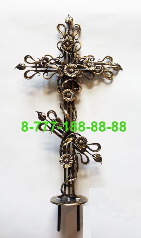 Кованые кресты на могилу №42