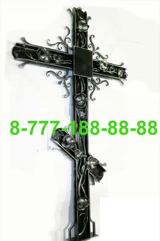 Кованые кресты на могилу №43