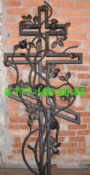 Кованые кресты на могилу №44