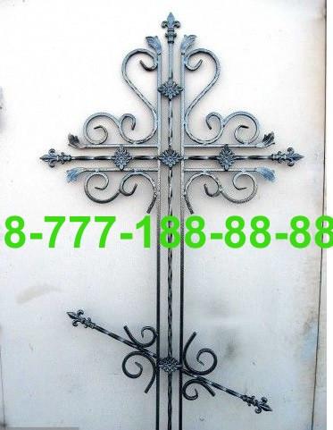 Кованые кресты на могилу №45