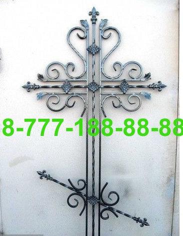 Кованые кресты на могилу №45, фото 2