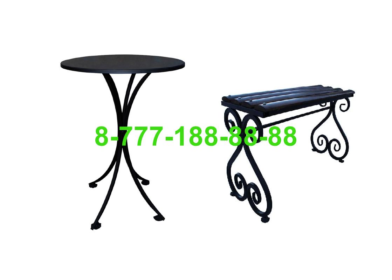 Столы и скамейки на кладбище №11