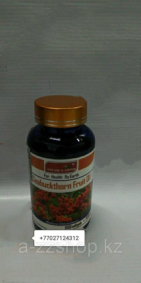 Капсулы Фруктовое масло облипихи - Seabuckthorn Fruit Oil