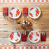Сервиз столовый Arcopal Lotus 12 предметов на 6 персон