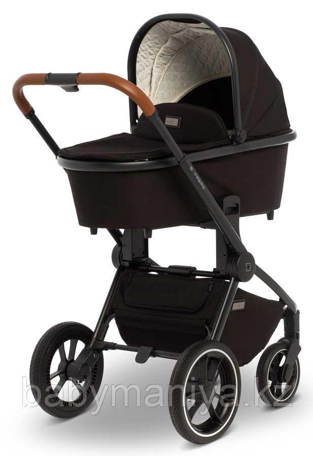 Детская коляска 2 в 1 MOON ReSea S Black
