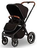 Детская коляска 2 в 1 MOON ReSea S Black, фото 4