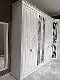 Встраиваемый распашной шкаф МДФ, фото 8