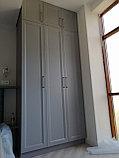 Встраиваемый распашной шкаф МДФ, фото 9