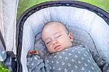 Детская коляска 2 в 1 MOON ReSea S Navy blue, фото 7