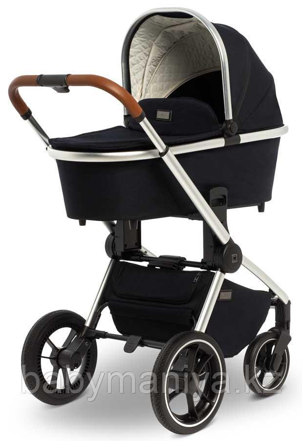 Детская коляска 2 в 1 MOON ReSea S Navy blue