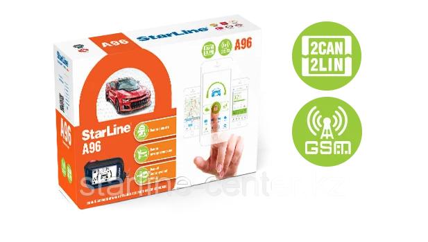 Автосигнализация StarLine A96 2CAN+2LIN GSM, фото 2