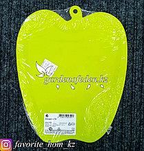 "Доска разделочная ""Slim"". Материал: Пластик. Цвет: Зеленый. Размеры: 225x183x3мм."