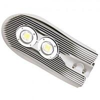 Светодиодный уличный светильник LED СКУ 100 w серый или черный корпус