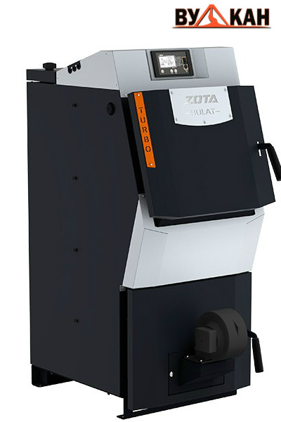 Твердотопливный котел ZOTA «Bulat Turbo»- 20 кВт.