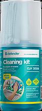Defender CLN 30598 Очищающий комплекс для экранов (200 мл+1салфетка)
