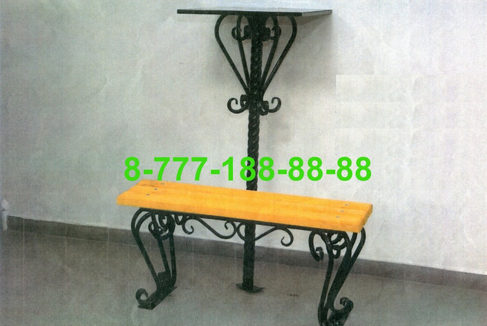 Столы и скамейки на кладбище №14, фото 2