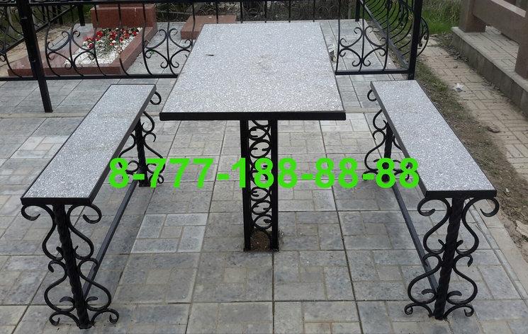 Столы и скамейки на кладбище №17, фото 2