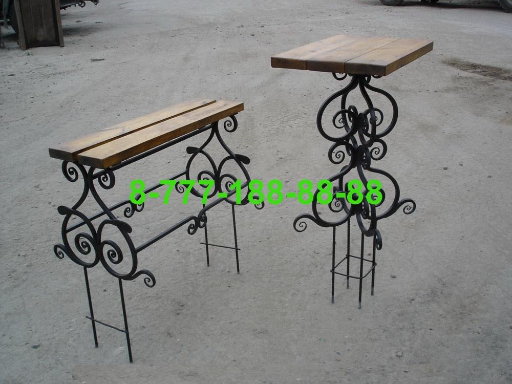Столы и скамейки на кладбище №22