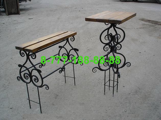 Столы и скамейки на кладбище №22, фото 2