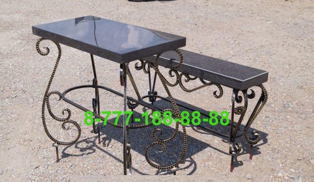 Столы и скамейки на кладбище №23, фото 2
