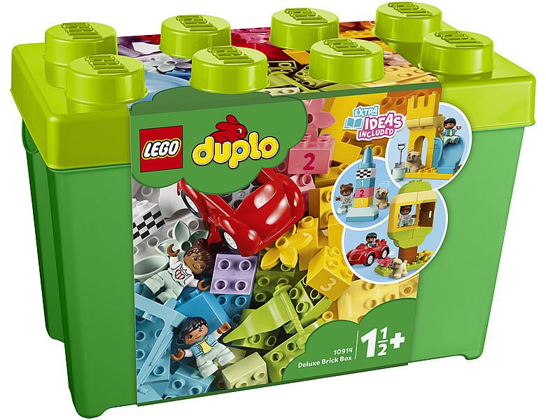 10914 Lego Duplo Большая коробка с кубиками, Лего Дупло