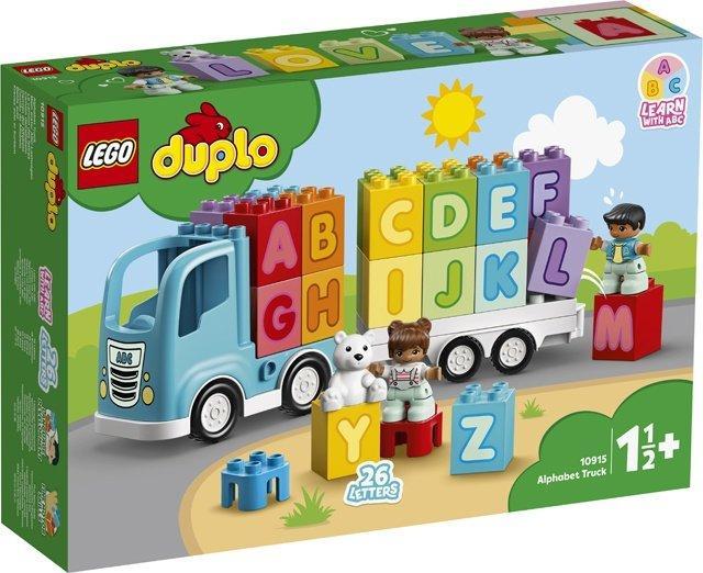 10915 Lego Duplo Грузовик «Алфавит», Лего Дупло