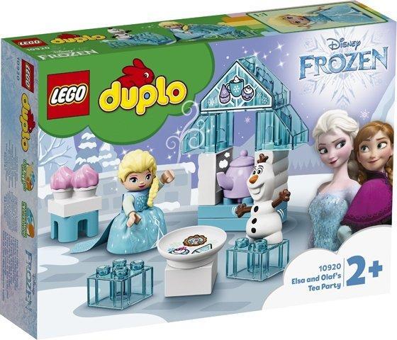 10920 Lego Duplo Чаепитие у Эльзы и Олафа, Лего Дупло