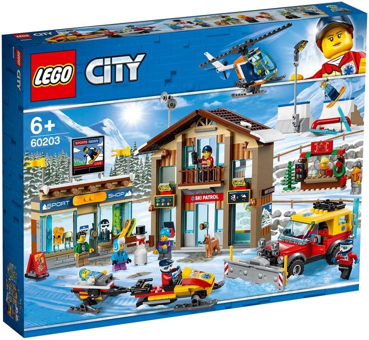 60203 Lego City Горнолыжный курорт, Лего Город Сити