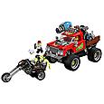 70421 Lego Hidden Side Трюковый грузовик Эль-Фуэго, Лего Хидден Сайд, фото 4