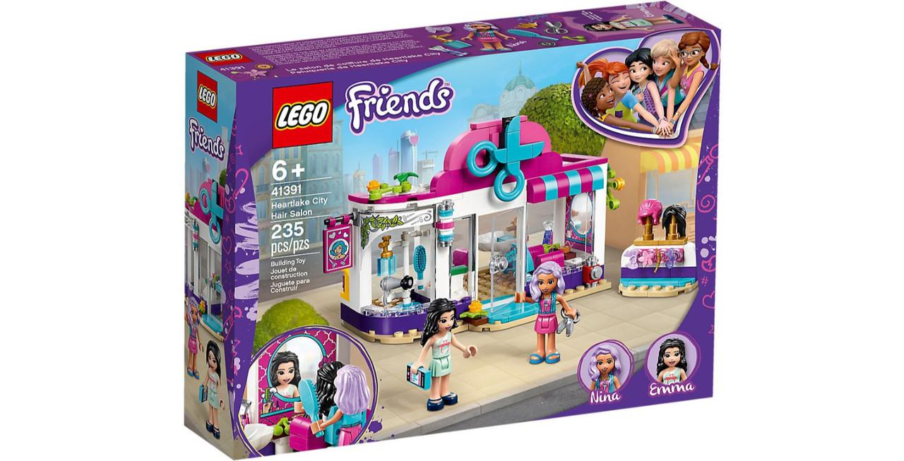 41391 Lego Friends Парикмахерская Хартлейк Сити, Лего Подружки