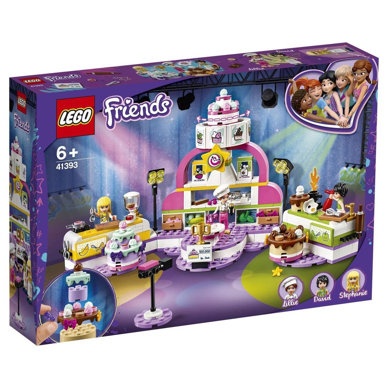 41393 Lego Friends Соревнование кондитеров, Лего Подружки