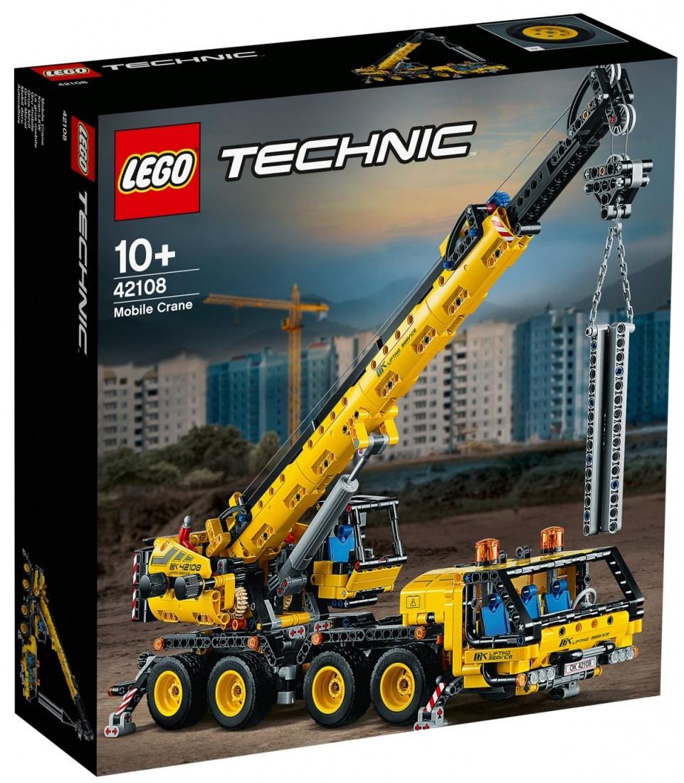 42108 Lego Technic Мобильный кран, Лего Техник