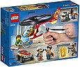 60248 Lego City Пожарный спасательный вертолёт, Лего Город Сити, фото 2