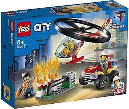 60248 Lego City Пожарный спасательный вертолёт, Лего Город Сити