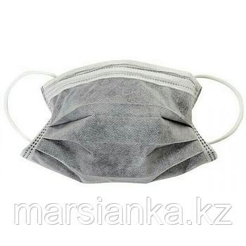 Маска угольная (серая),50 шт