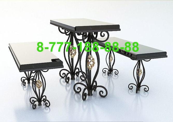 Столы и скамейки на кладбище №13, фото 2