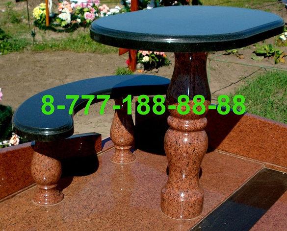 Столы и скамейки из гранита №2, фото 2