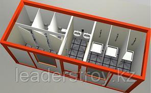 Сантехнический блок - контейнер