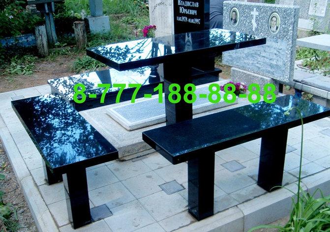 Столы и скамейки из гранита №4, фото 2