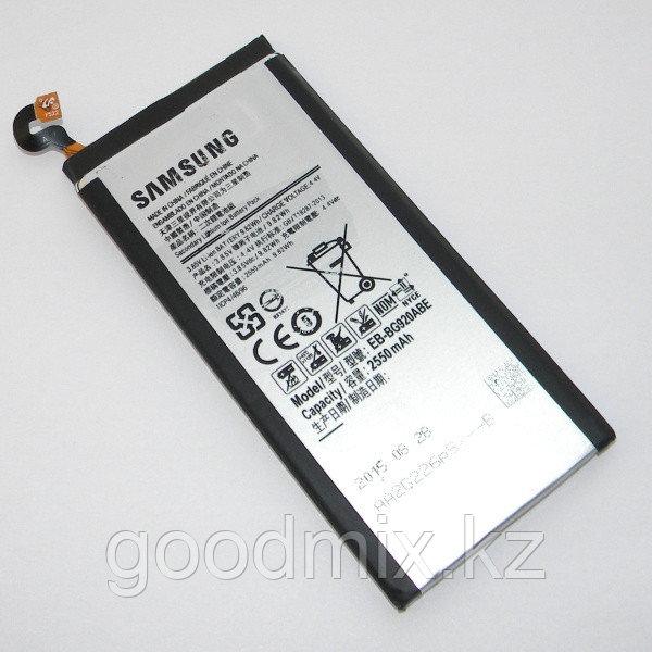 Заводской аккумулятор для Samsung Galaxy S6 Edge G925F (EB-BG925ABE, 2600mah)