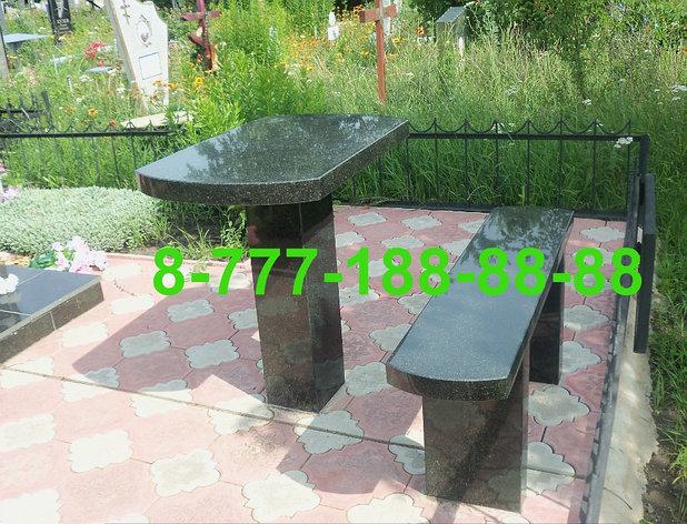Столы и скамейки из гранита №5, фото 2