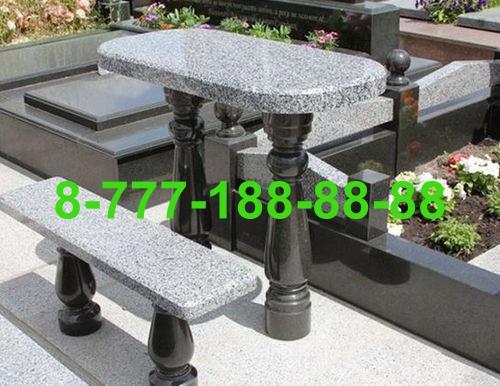 Столы и скамейки из гранита №8