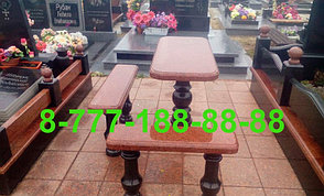 Столы и скамейки из гранита №9