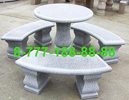 Столы и скамейки из гранита №10