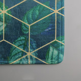 Коврик «Бурлеск», 45×120 см, листья, фото 5