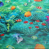 Коврик ПВХ «Морские обитатели», 0,8×15 м, фото 2