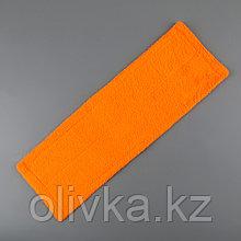 Насадка для плоской швабры Доляна, 40×10 см, 50 гр, микрофибра, цвет МИКС