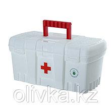 Аптечка BLOСKER «Скорая помощь», большая, цвет белый